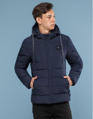 Синяя куртка с прочной фурнитурой модель 6015-1 фото 1