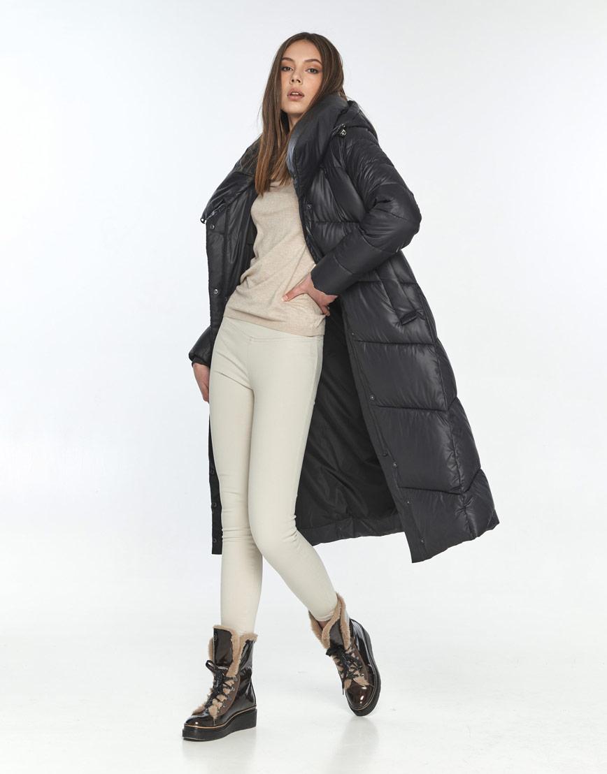 Зимняя женская куртка Wild Club чёрная 514-35 фото 2