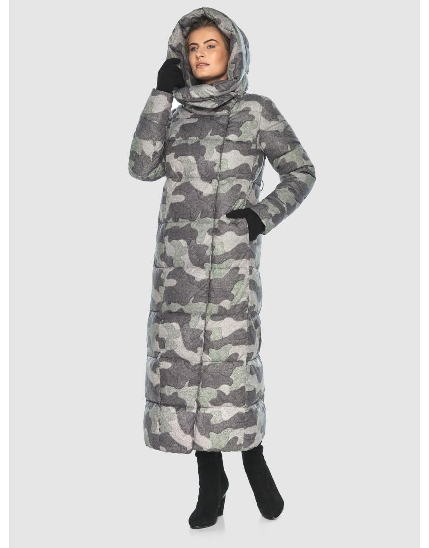 Комфортная куртка с рисунком женская Ajento 22356 фото 2