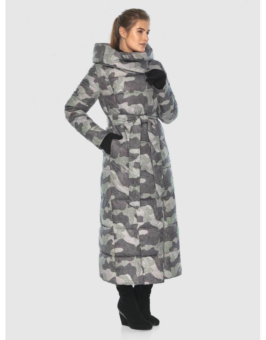 Комфортная куртка с рисунком женская Ajento 22356 фото 1