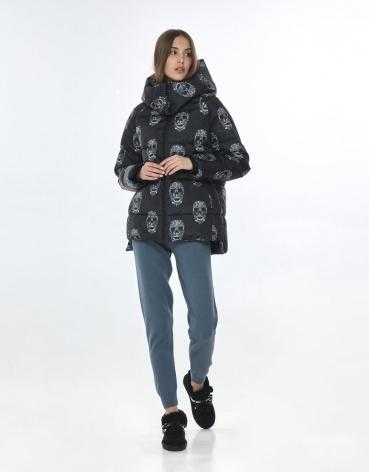 Подростковая куртка с рисунком практичная Vivacana 7354/21 фото 1