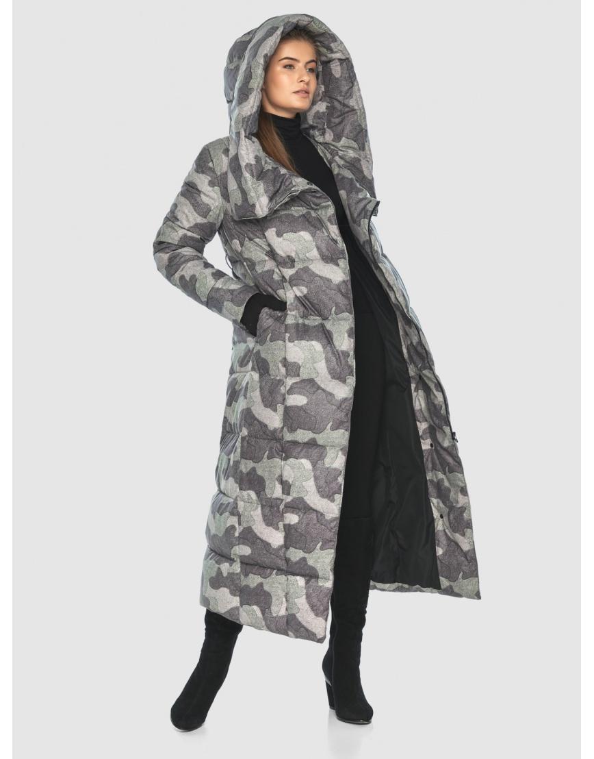 Комфортная куртка с рисунком женская Ajento 22356 фото 6