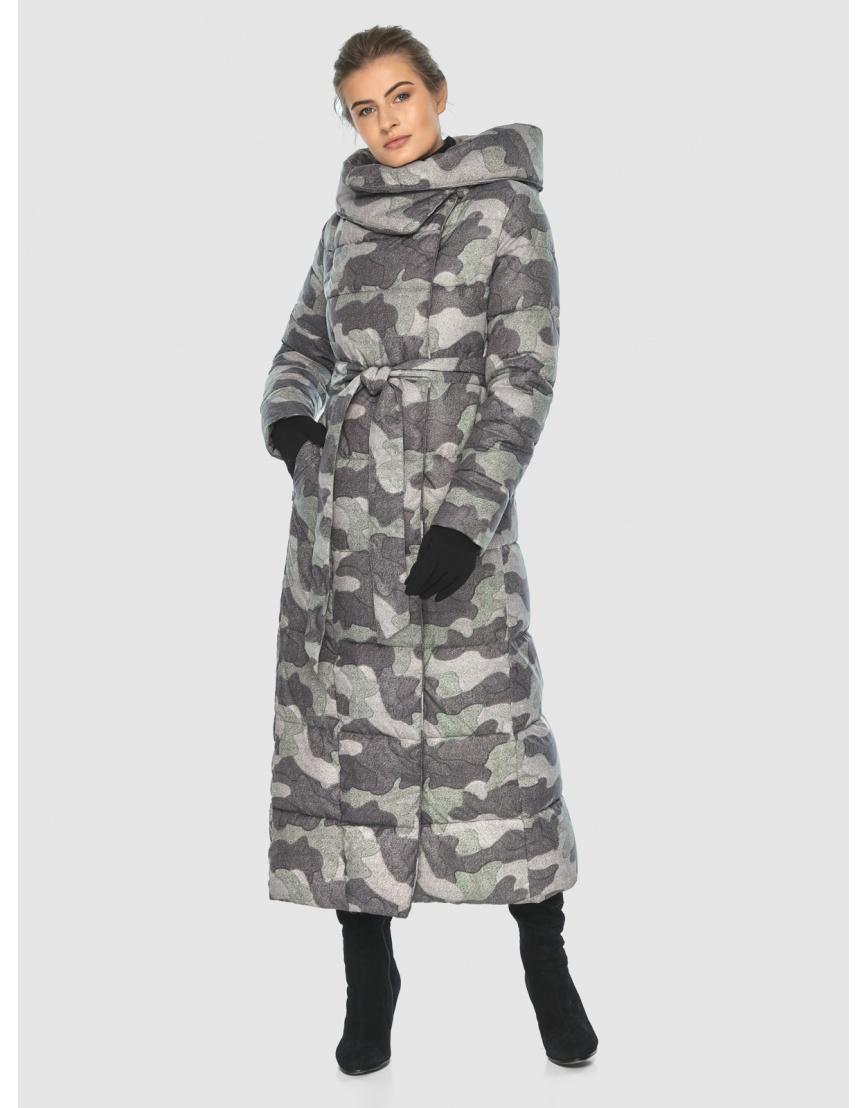 Комфортная куртка с рисунком женская Ajento 22356 фото 3
