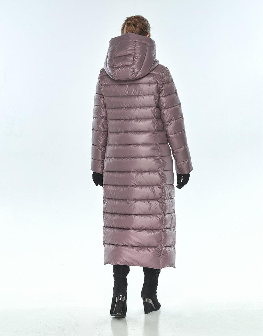 Женская куртка Ajento пудровая на молнии 23320 фото 3