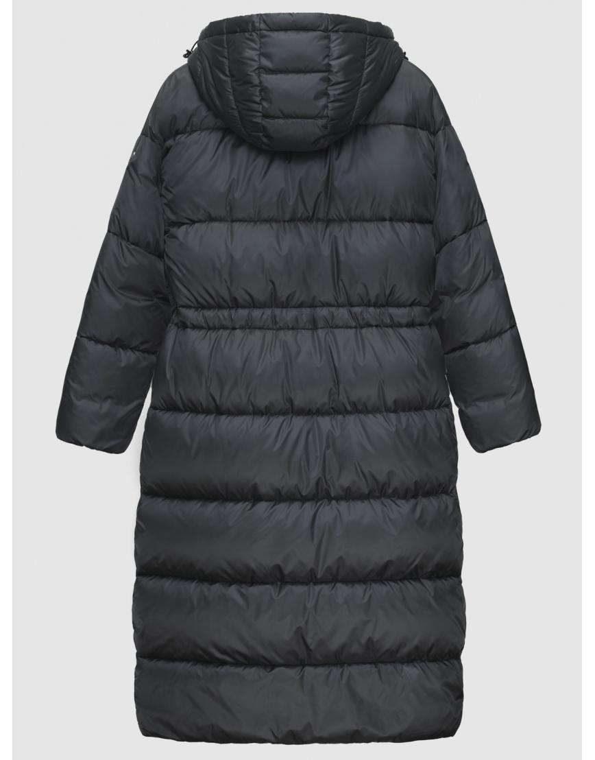 Куртка длинная женская Braggart серая зимняя 200030 фото 2