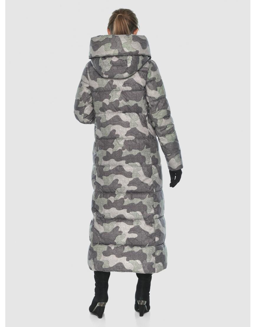 Комфортная куртка с рисунком женская Ajento 22356 фото 4