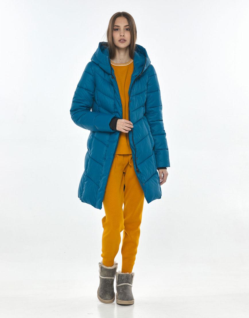 Модная аквамариновая куртка Vivacana для подростка 7821/21 фото 2