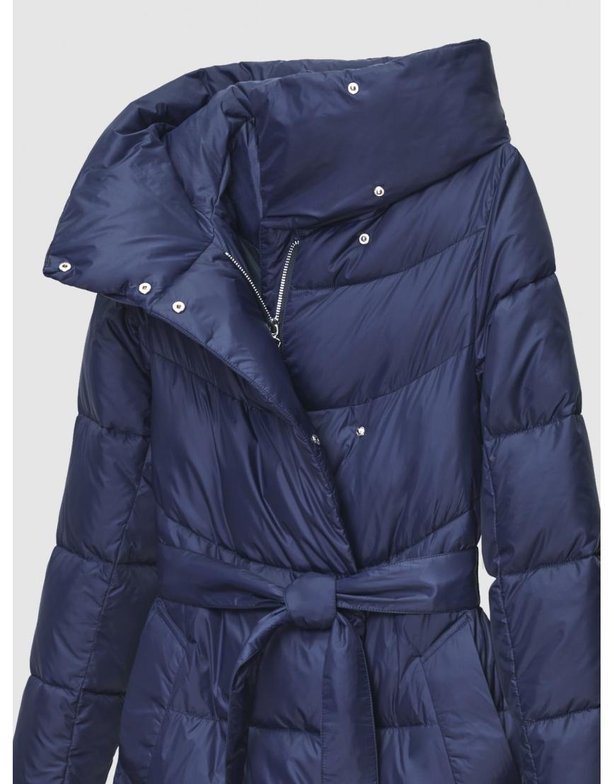 40 (3XS) – последний размер – куртка с поясом женская Braggart синяя зимняя 200031 фото 3