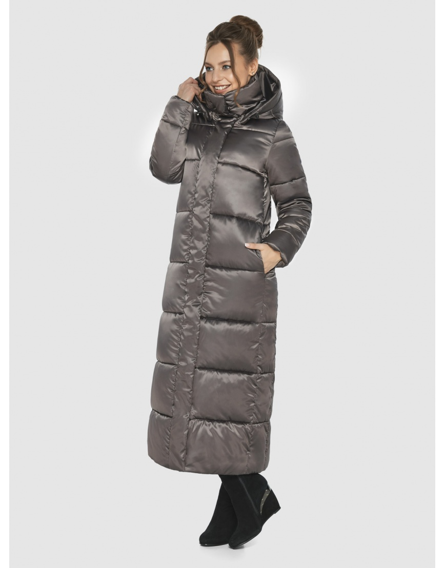 Куртка Ajento капучиновая женская практичная 21972 фото 3