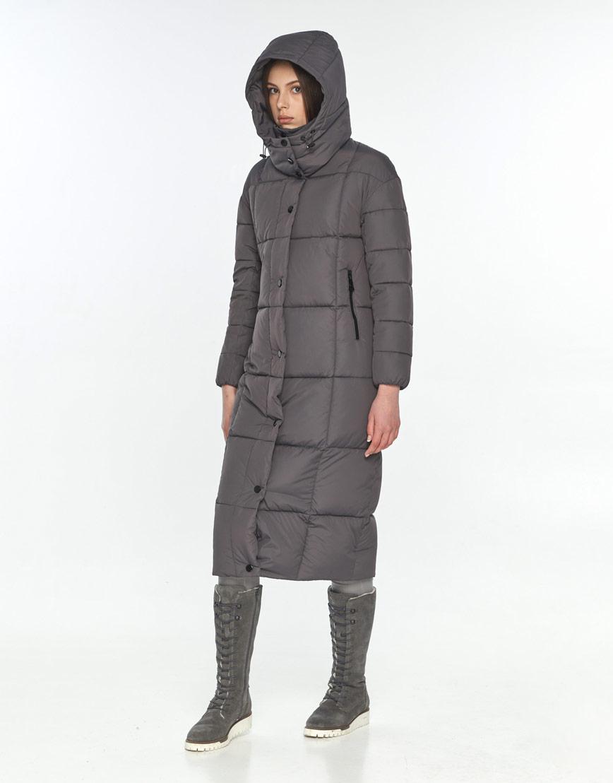 Серая модная куртка подростковая Wild Club зимняя 541-74 фото 1