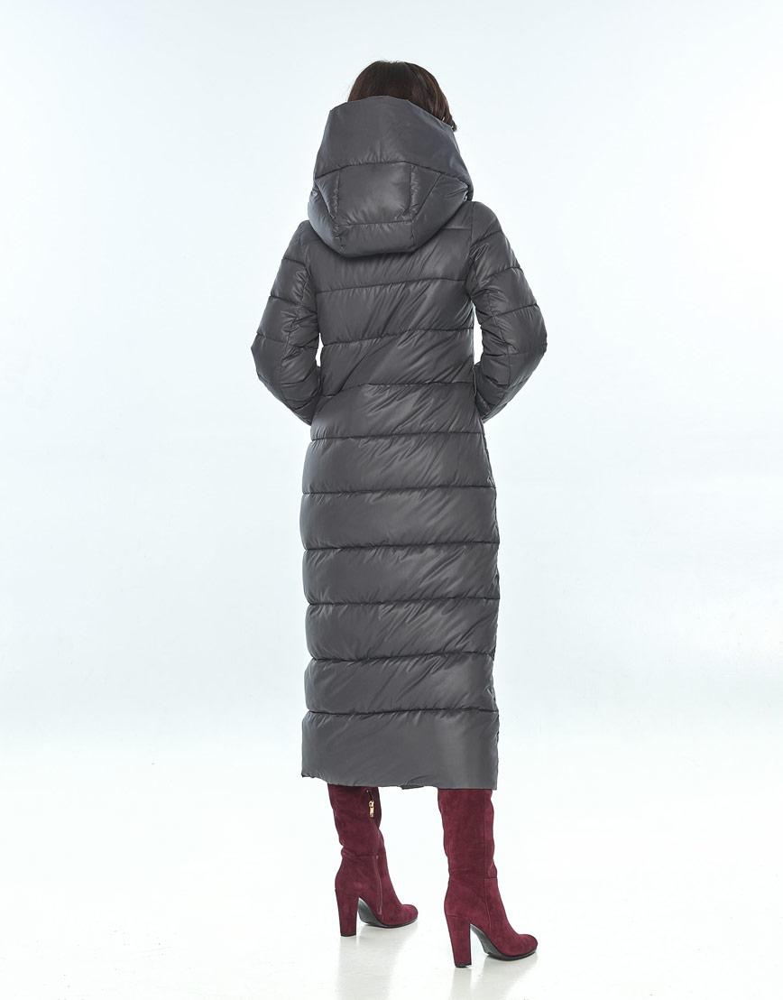 Зимняя женская серая куртка большого размера Vivacana 9405/21 фото 3