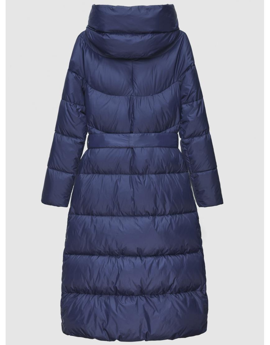 40 (3XS) – последний размер – куртка с поясом женская Braggart синяя зимняя 200031 фото 4