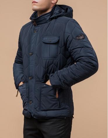 Куртка на меху светло-синяя модель 2703 фото 1