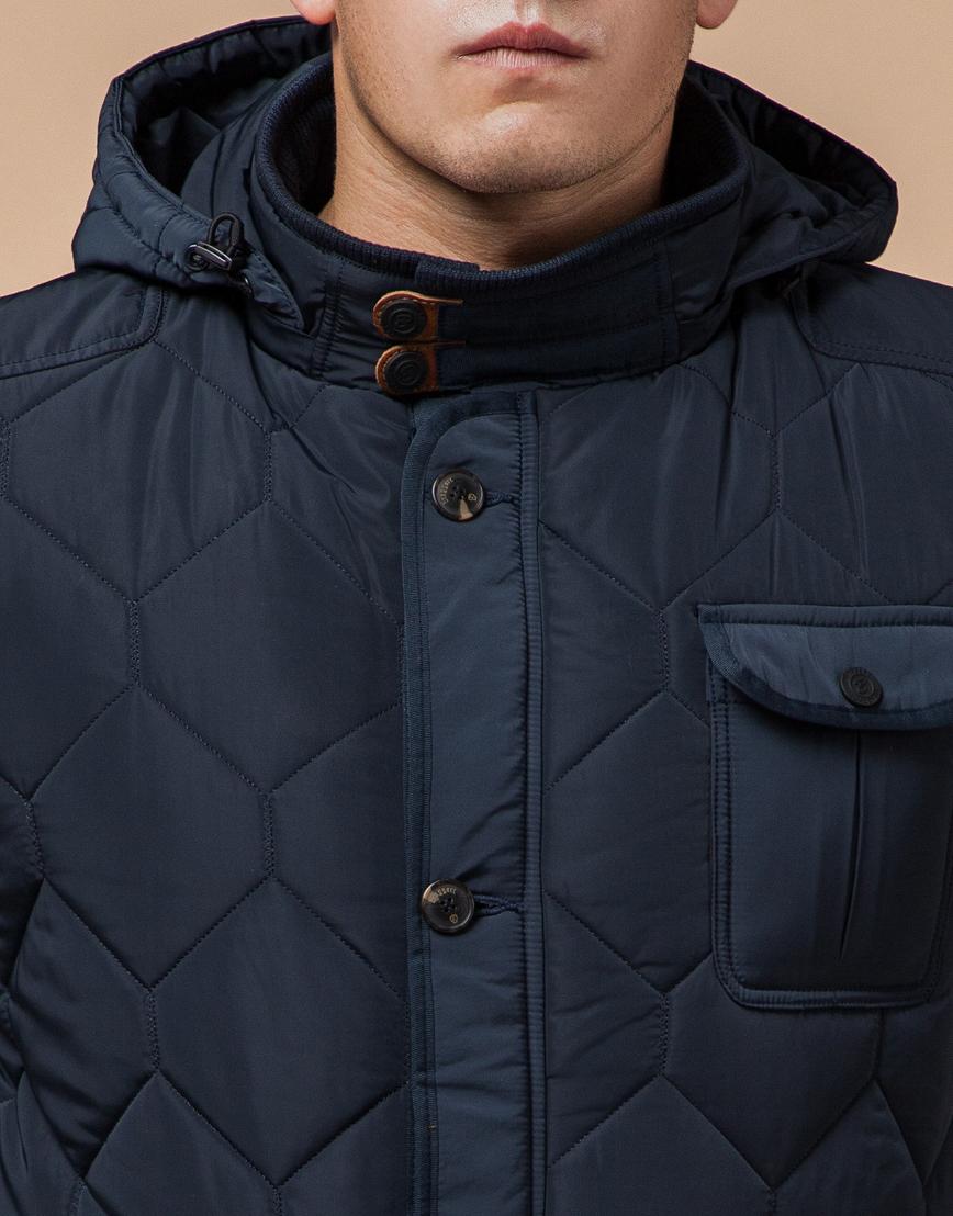 Куртка на меху светло-синяя модель 2703 фото 4