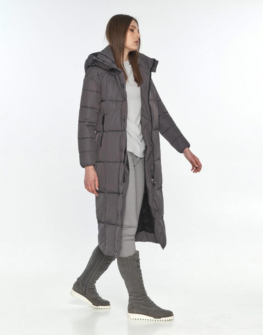 Серая модная куртка подростковая Wild Club зимняя 541-74 фото 2