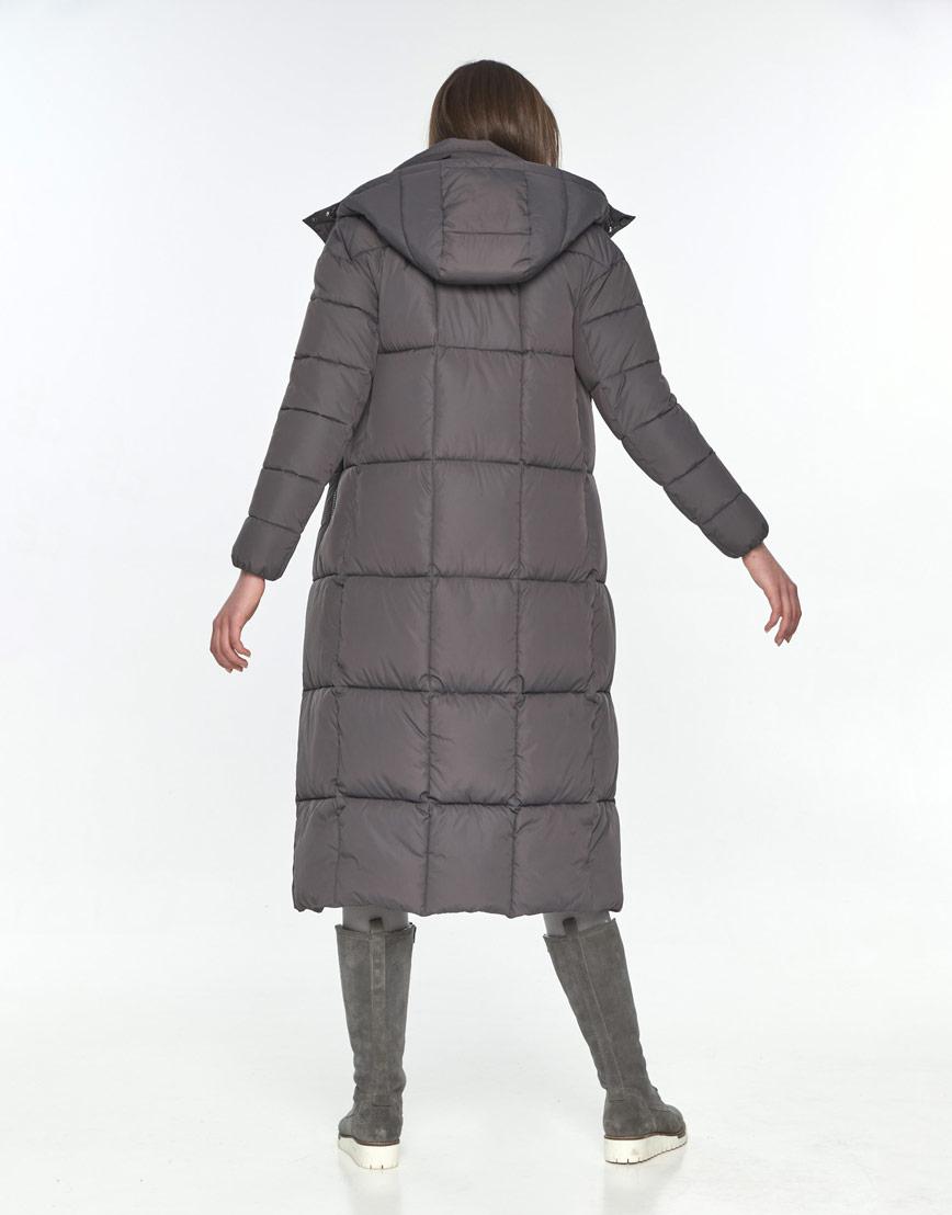 Серая модная куртка подростковая Wild Club зимняя 541-74 фото 3