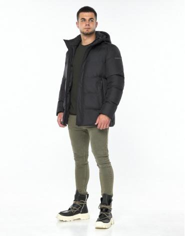 Брендовая куртка графитовая модель 43250