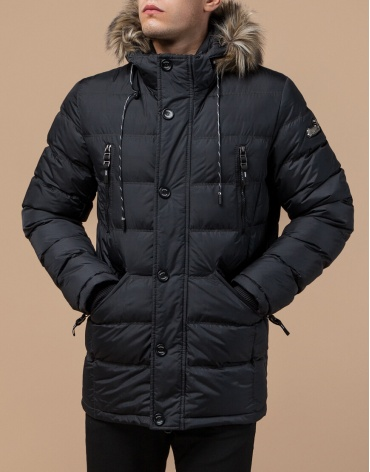 Графитовая куртка с карманами модель 15335
