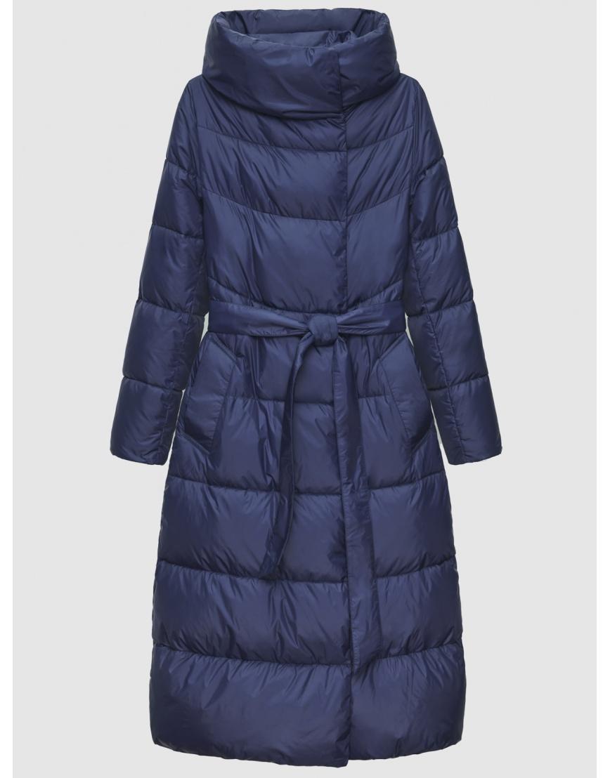 40 (3XS) – последний размер – куртка с поясом женская Braggart синяя зимняя 200031 фото 1