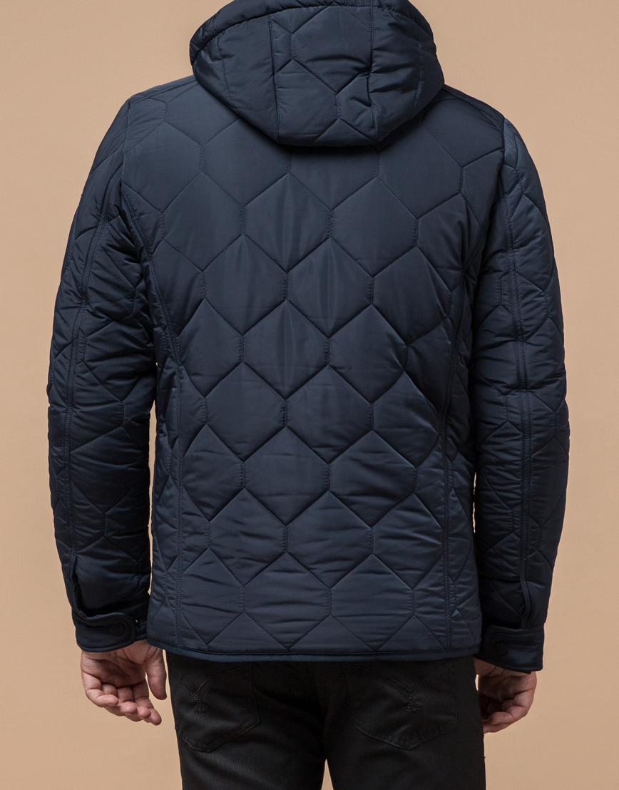 Куртка на меху светло-синяя модель 2703 фото 3