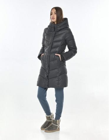 Фирменная куртка Vivacana серая подростковая 7821/21 фото 1