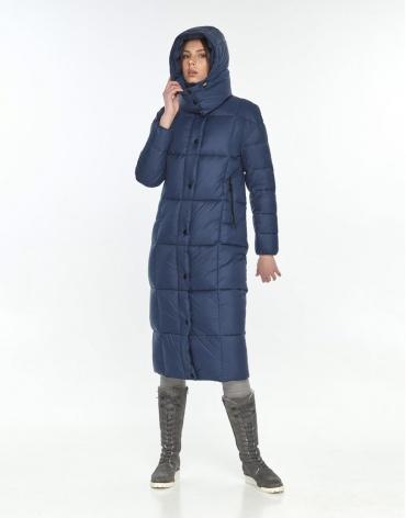 Куртка подростковая на молнии Wild Club синяя зимняя 541-74 фото 1