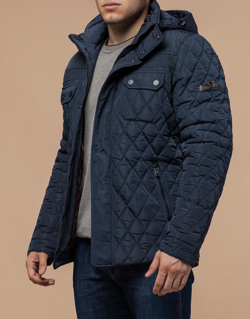 Куртка светло-синяя на зиму мужская модель 1698 оптом фото 1