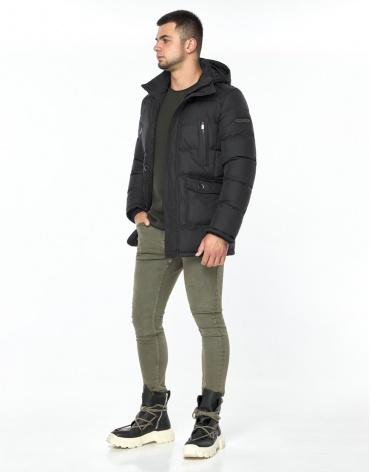 Куртка модная графитового цвета модель 24750 фото 1