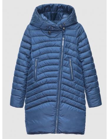 42 (XXS) – последний размер – куртка с капюшоном женская Braggart синяя на зиму 200032 фото 1