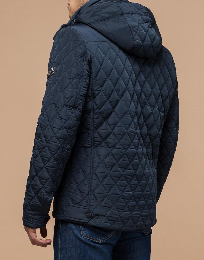 Куртка светло-синяя на зиму мужская модель 1698 оптом фото 3