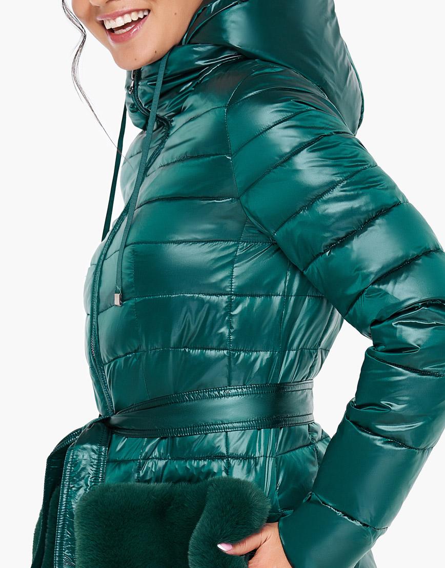 Воздуховик Braggart женский осенне-весенний комфортный цвет изумрудный модель 31845