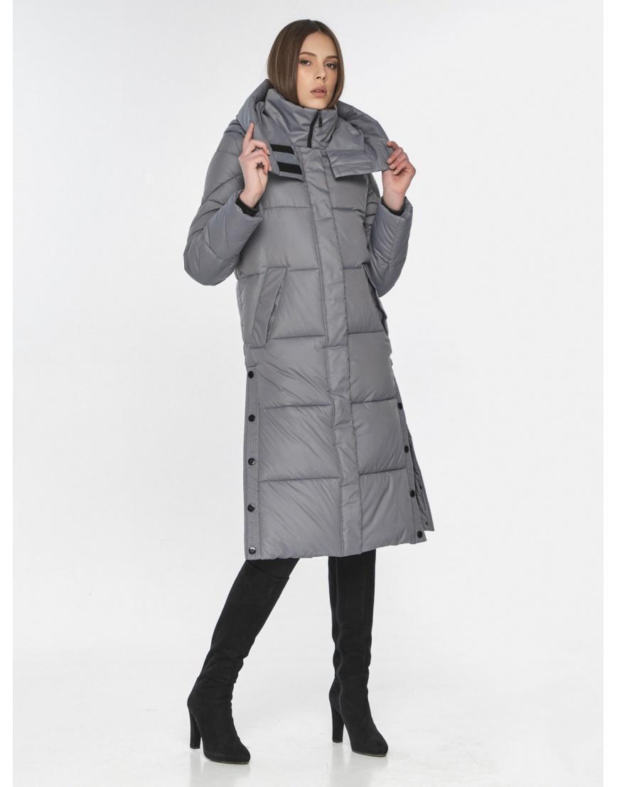 Современная куртка женская Wild Club серая 534-23 фото 1