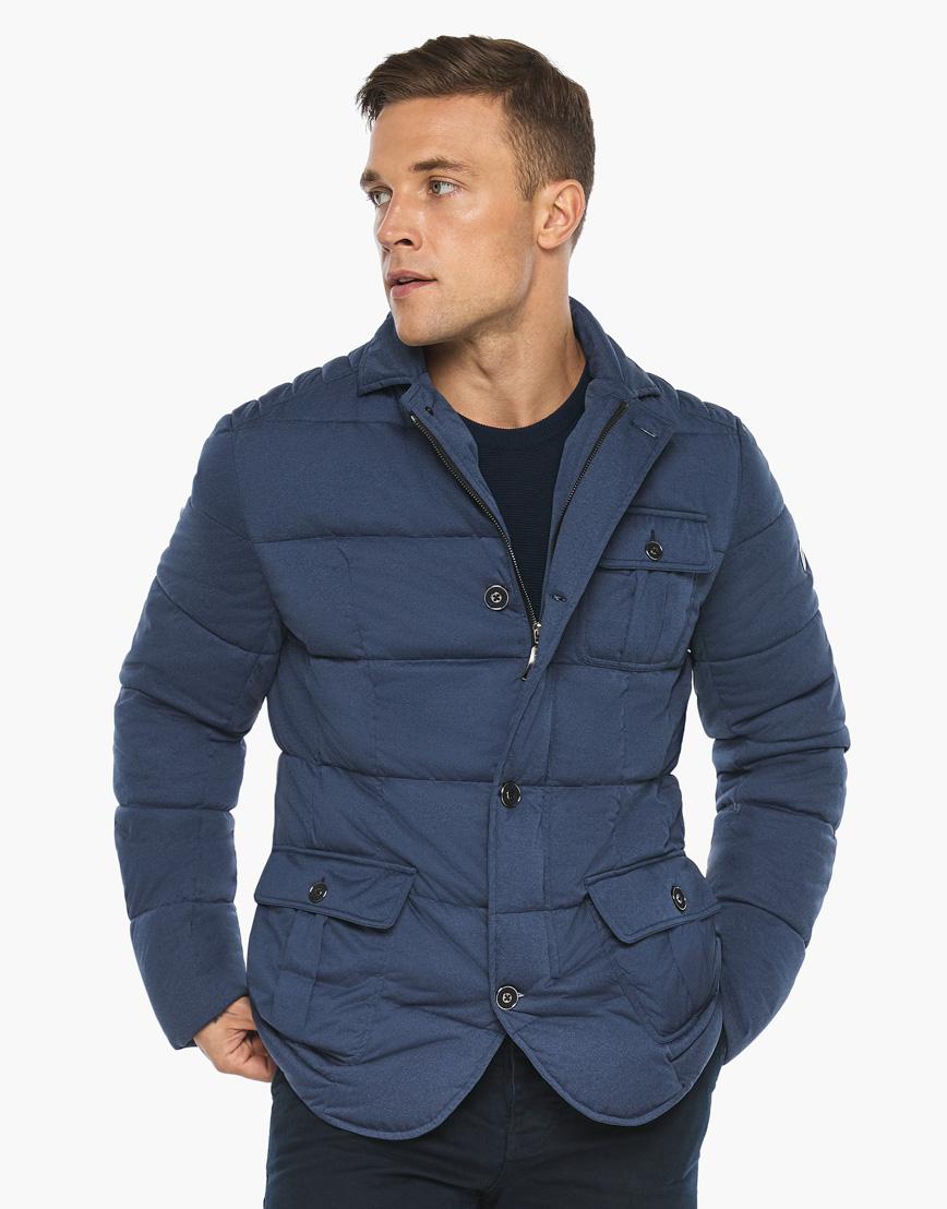 Воздуховик модного дизайна Braggart мужской зимний цвет джинс модель 35230 фото 2