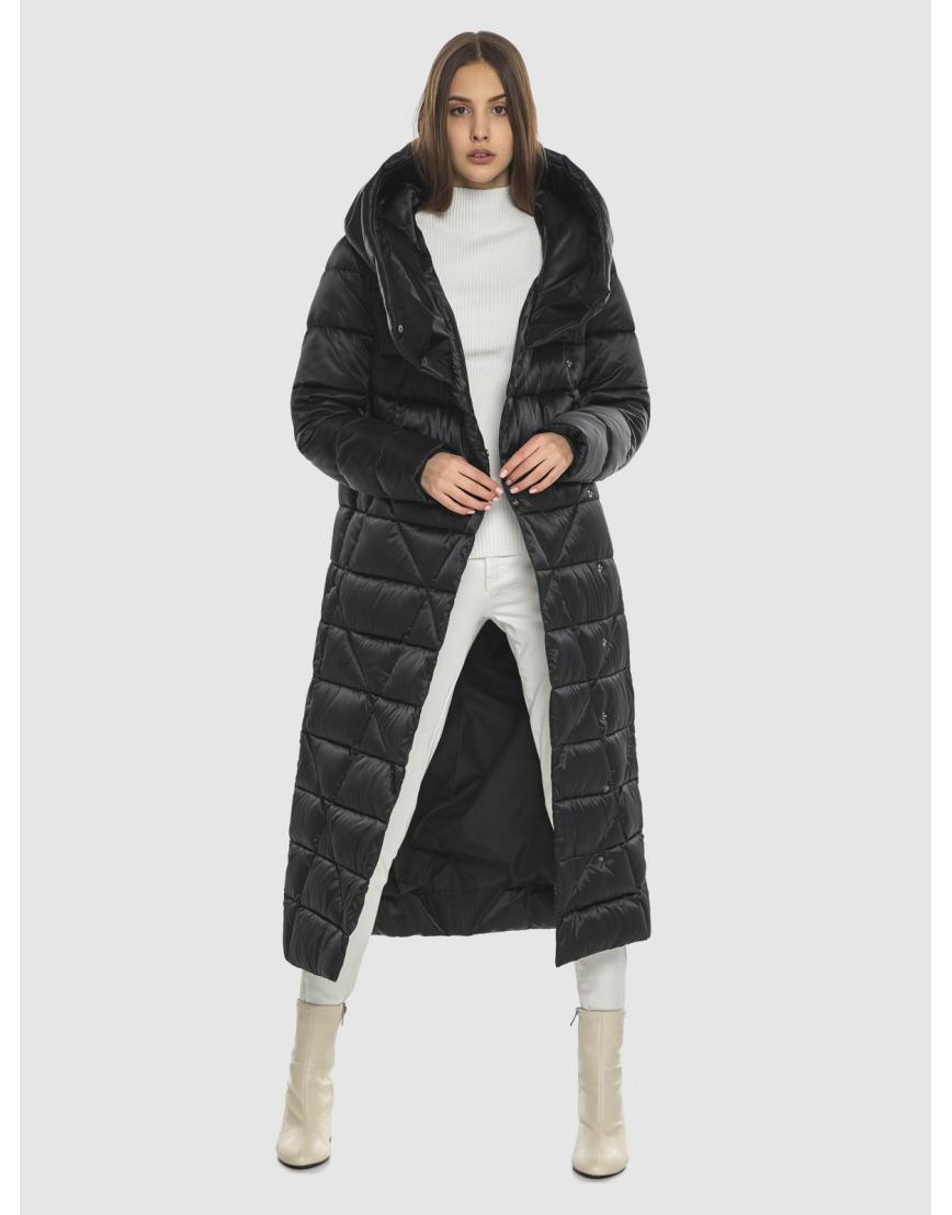 Стёганая куртка женская Vivacana чёрная 9470/21 фото 2