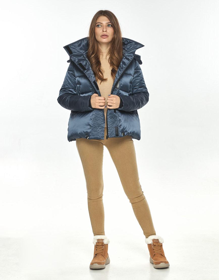 Куртка женская Ajento фирменная синего цвета 23952 фото 2