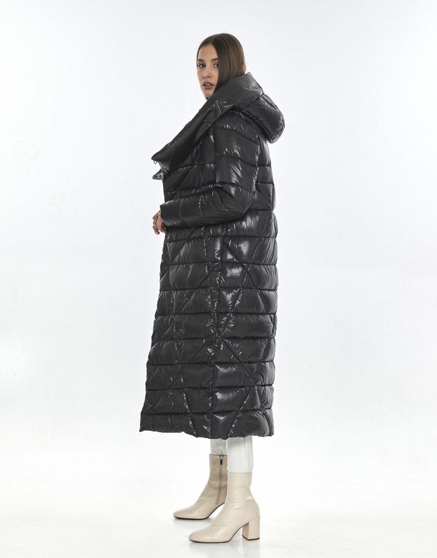 Женская куртка зимняя Vivacana серая 9470/21 фото 3