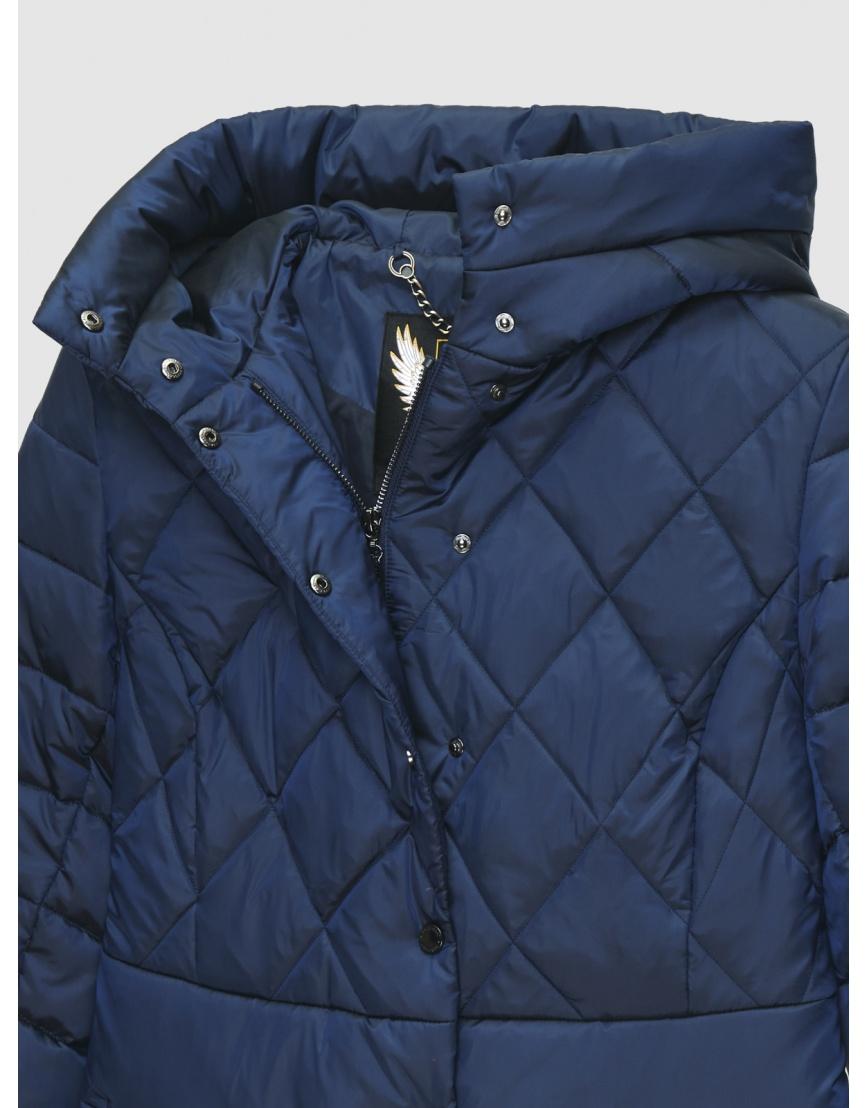 48 (M) – последний размер – куртка короткая женская Braggart синяя осенне-весенняя 200033 фото 3