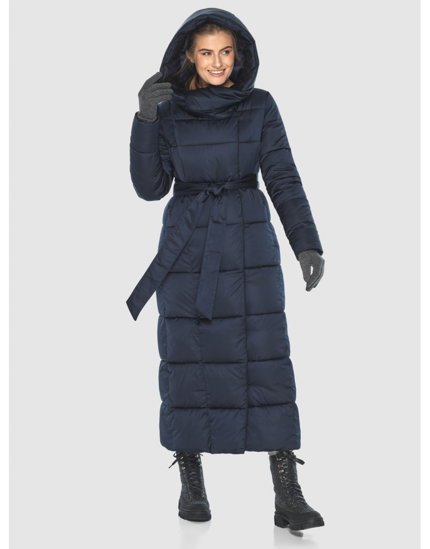 Куртка комфортная синяя Ajento женская 22356 фото 3