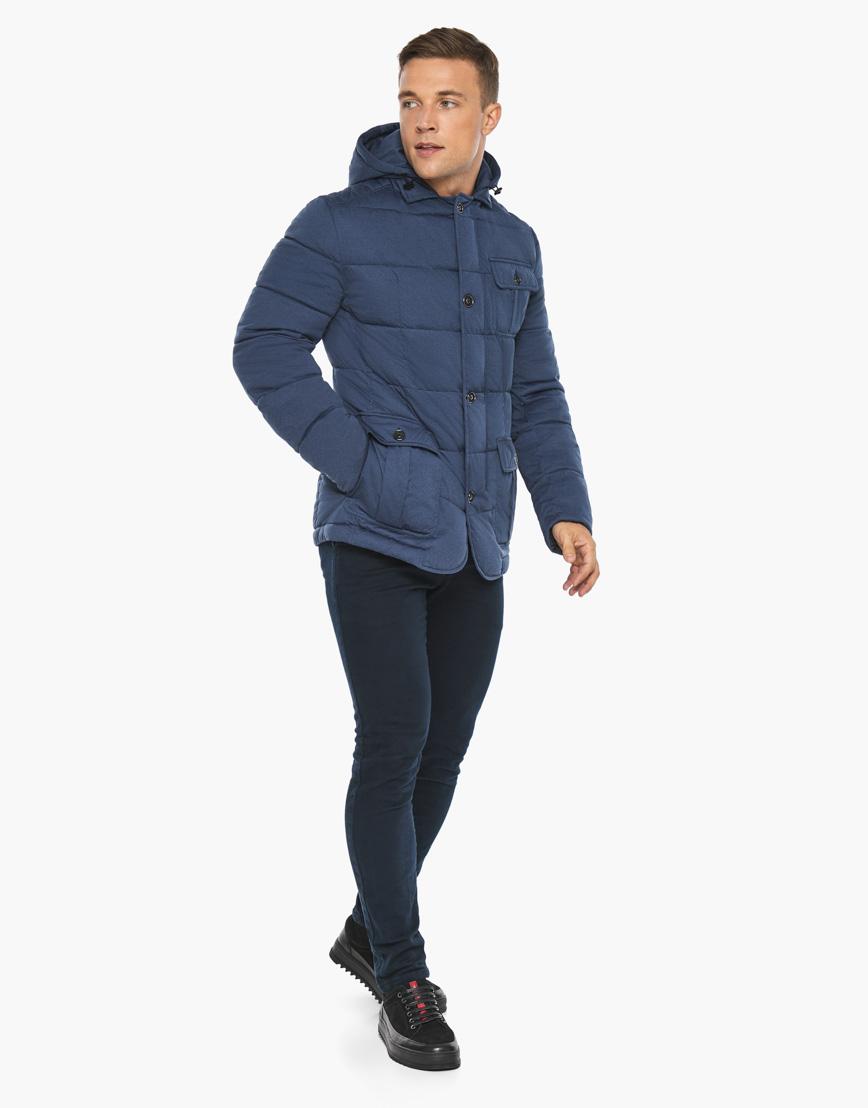 Воздуховик модного дизайна Braggart мужской зимний цвет джинс модель 35230 фото 4