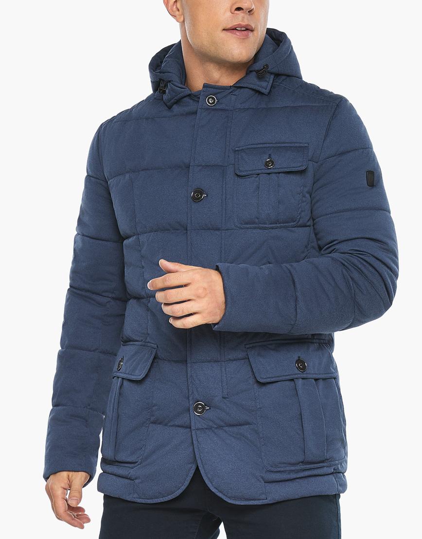 Воздуховик модного дизайна Braggart мужской зимний цвет джинс модель 35230 фото 8