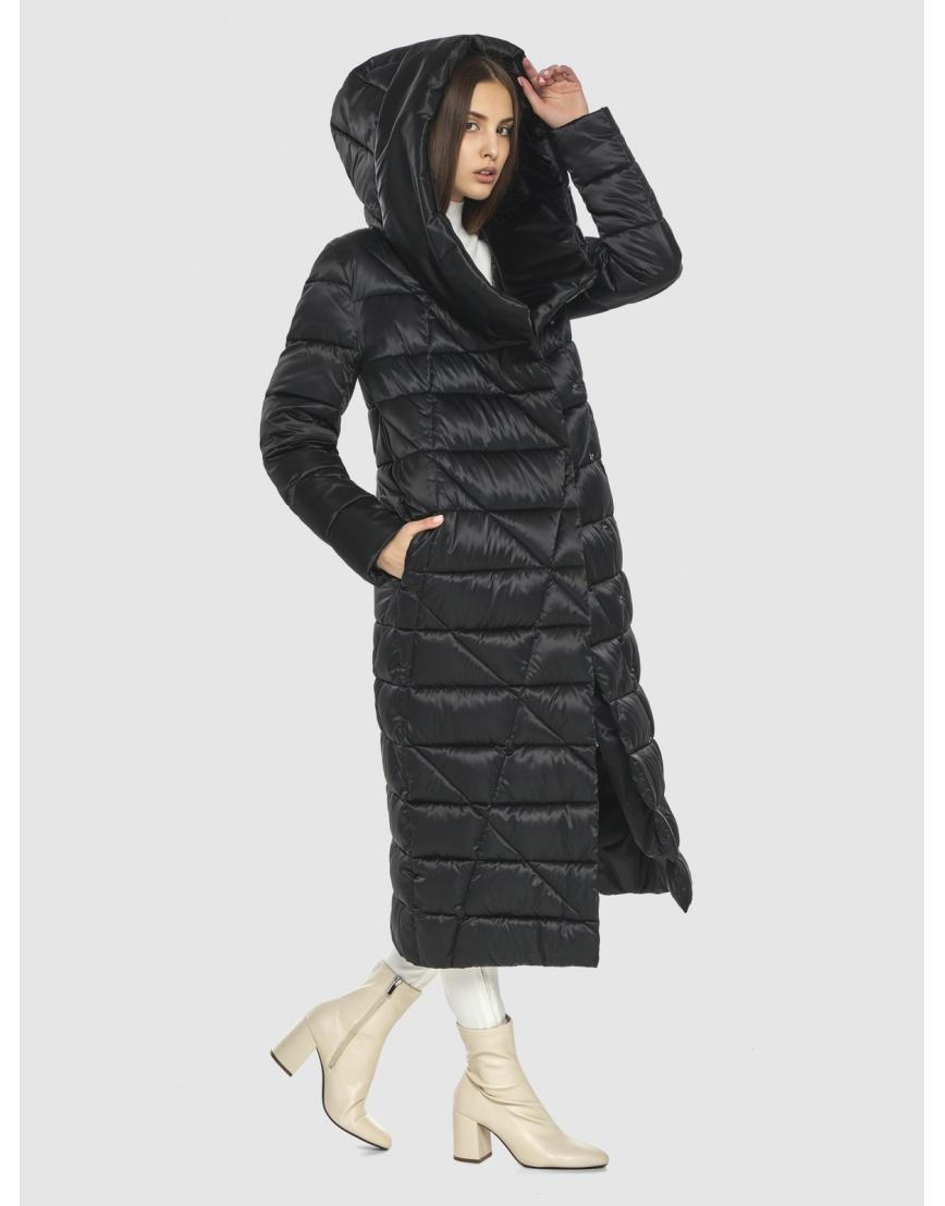 Стёганая куртка женская Vivacana чёрная 9470/21 фото 3