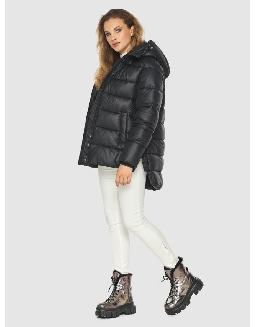 Женская чёрная практичная куртка Kiro Tokao 60041 фото 2