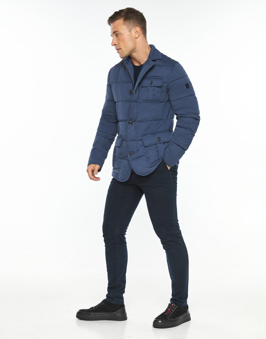 Воздуховик модного дизайна Braggart мужской зимний цвет джинс модель 35230 фото 3
