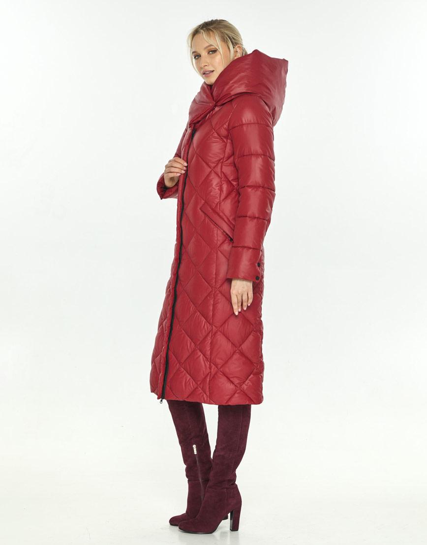 Красная куртка удобная зимняя Kiro Tokao женская 60074 фото 2