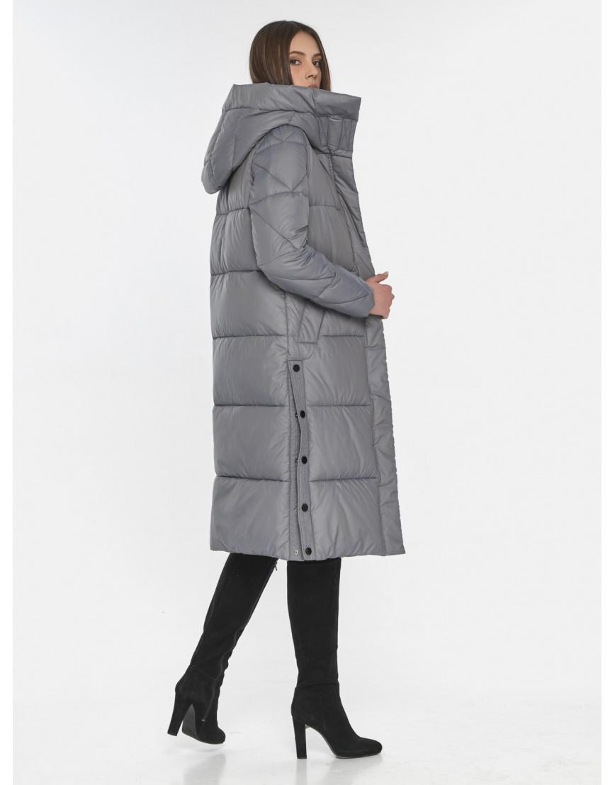 Современная куртка женская Wild Club серая 534-23 фото 4