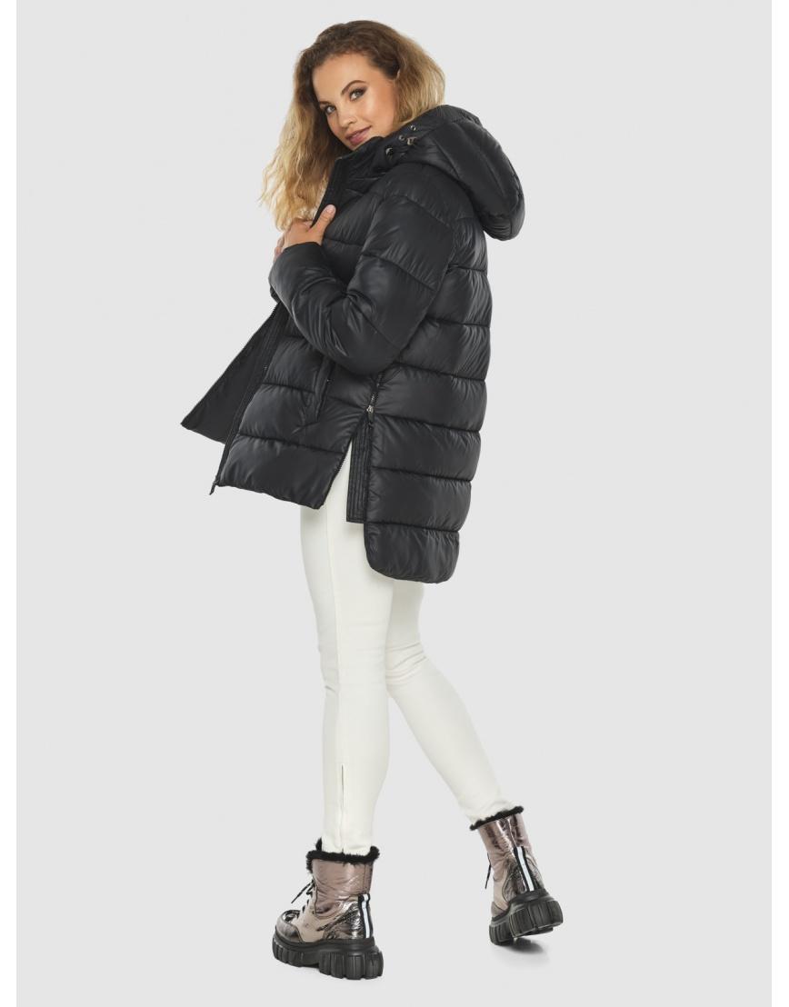 Женская чёрная практичная куртка Kiro Tokao 60041 фото 5