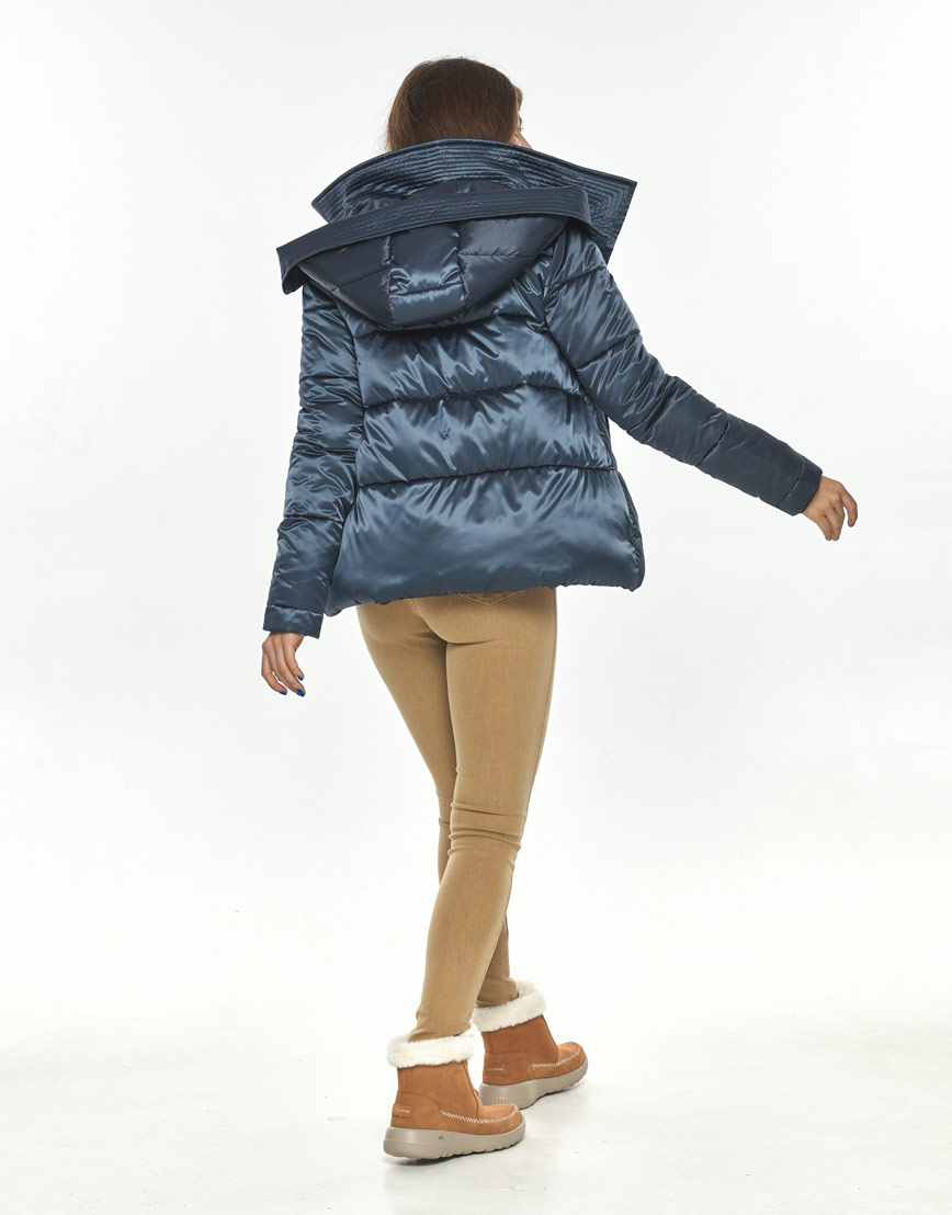 Куртка женская Ajento фирменная синего цвета 23952 фото 3