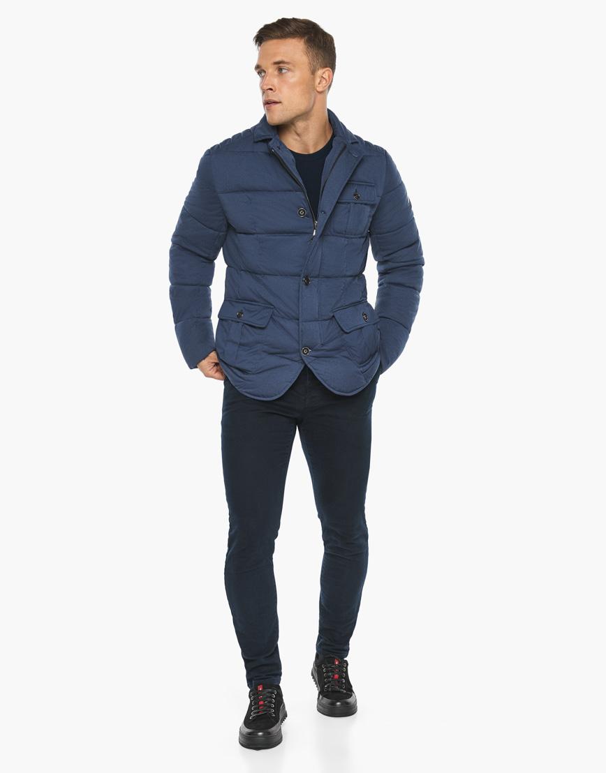 Воздуховик модного дизайна Braggart мужской зимний цвет джинс модель 35230 фото 5
