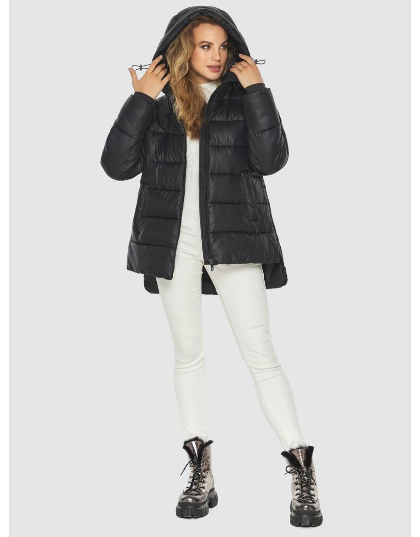 Женская чёрная практичная куртка Kiro Tokao 60041 фото 6