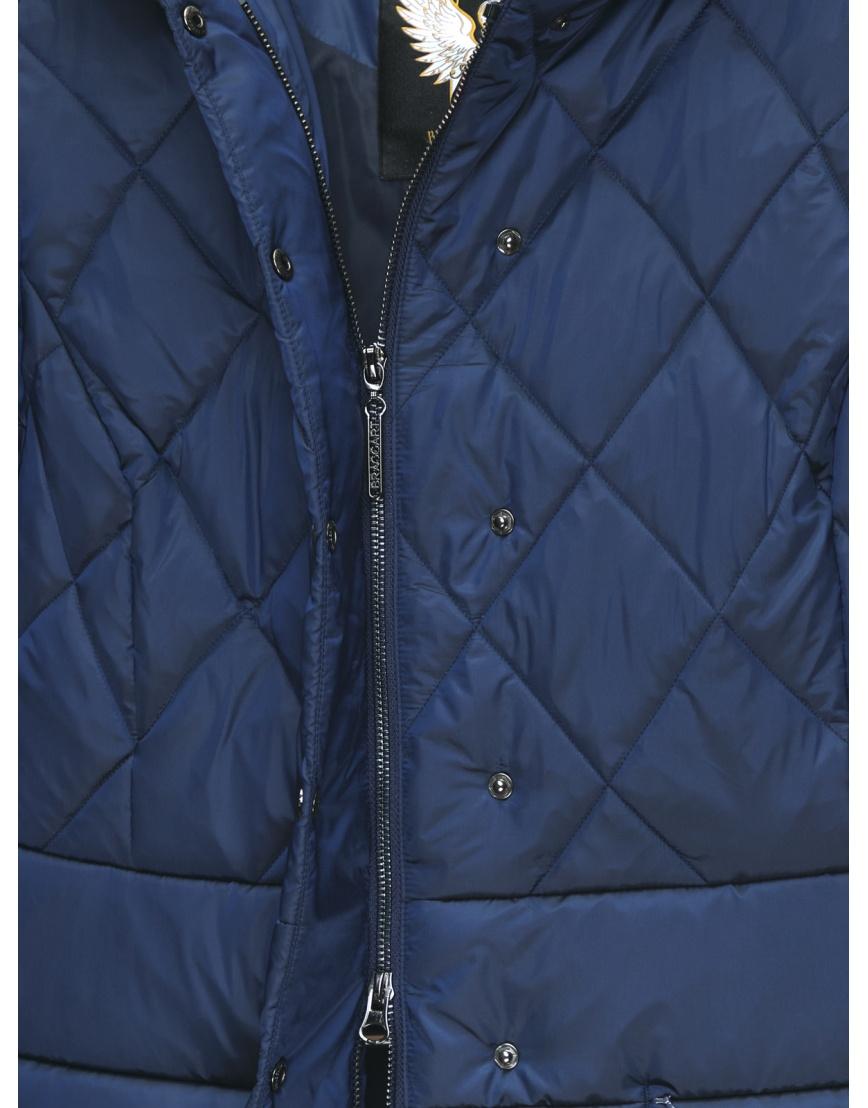 48 (M) – последний размер – куртка короткая женская Braggart синяя осенне-весенняя 200033 фото 4